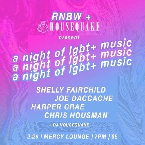 A Night of LGBT+ Music