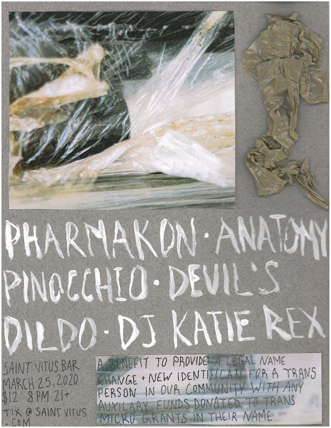 Pharmakon, Anatomy, Pinocchio, Devil's Dildo, DJ Katie Rex