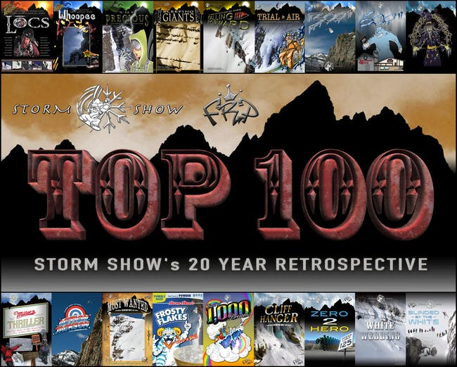 Storm Show's 20 Year Retrospective Film: TOP 100