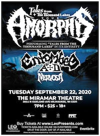 Amorphis - Tales From The Thousand Lakes Tour