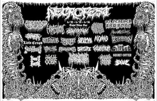 Necrofest 2020 with Ascended Dead, Horrendous, Outer Heaven, Ulthar, & More