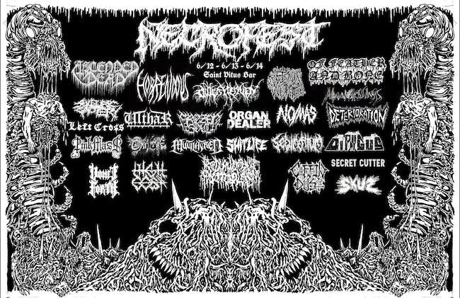 Necrofest 2020 w Ascended Dead, Sanguisugabogg, Outer Heaven, Ilsa, & More