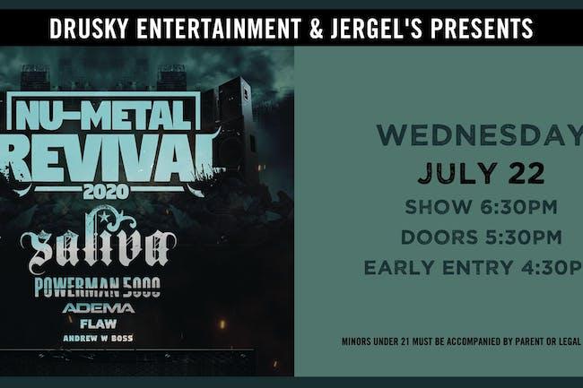 Nu-Metal Revival featuring Saliva & Powerman 5000