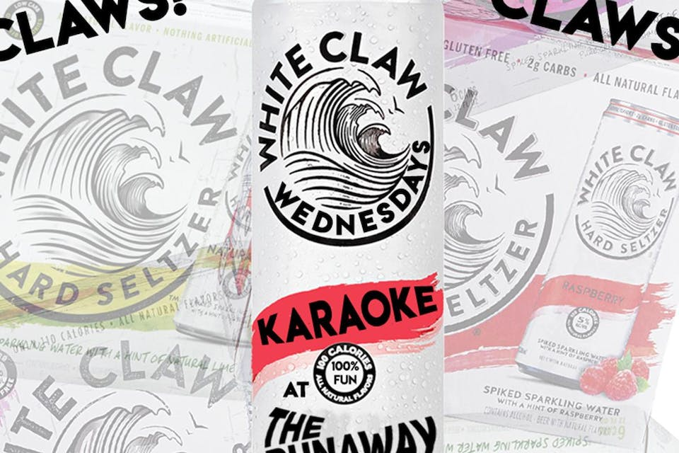 White Claw Wednesday Karaoke