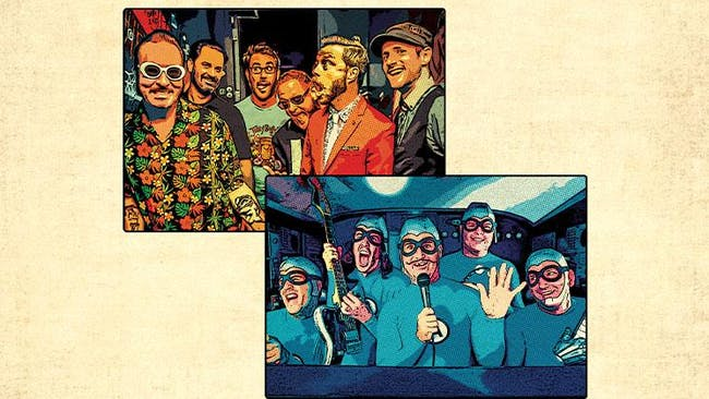 REEL BIG FISH + THE AQUABATS!