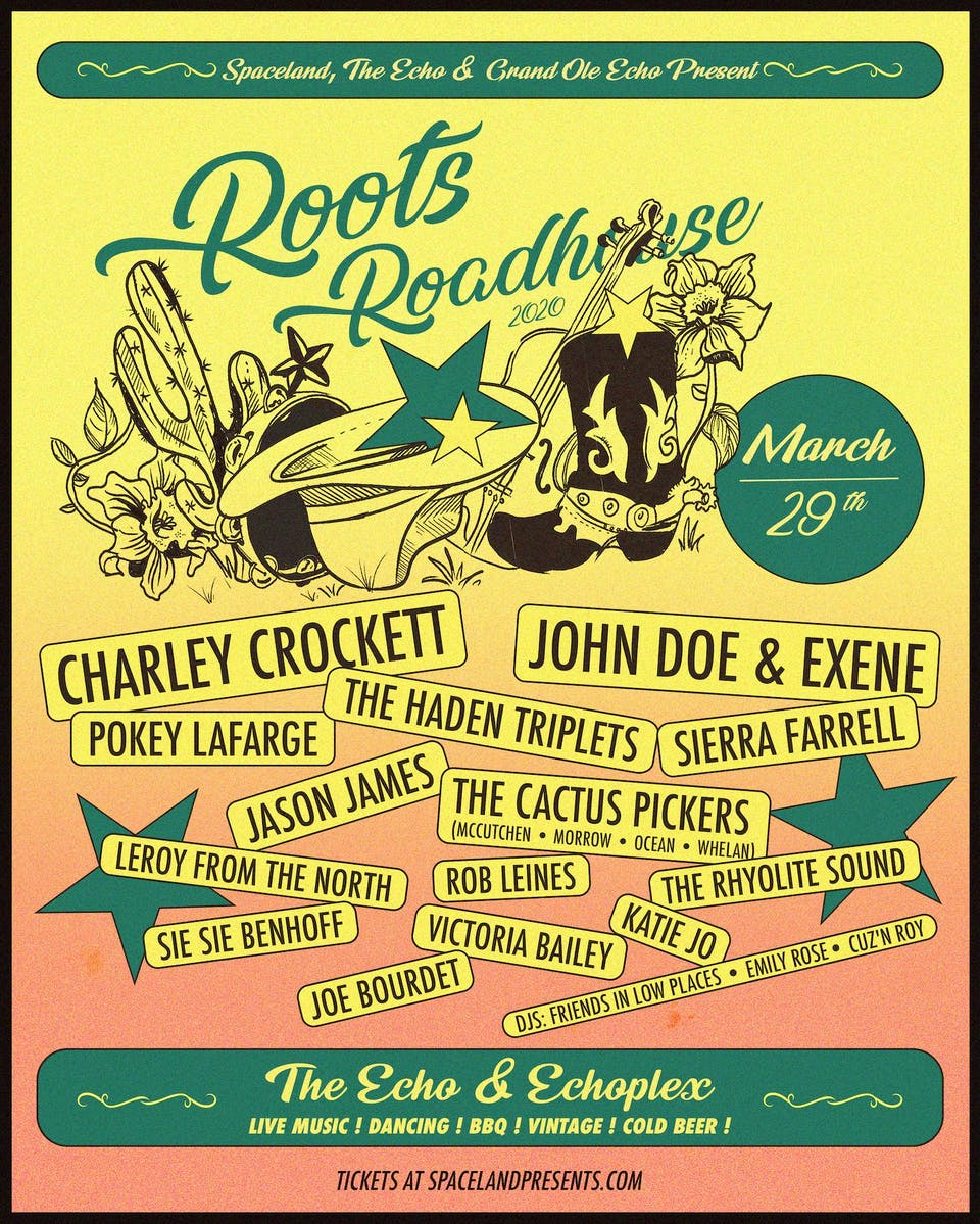 POSTPONED: Roots Roadhouse 2020