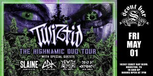 TWIZTID- The Highnamic Duo Tour - new date is July 19, 2020