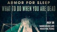 ARMOR FOR SLEEP / NEVER LOVED / SILENCE OF YOU