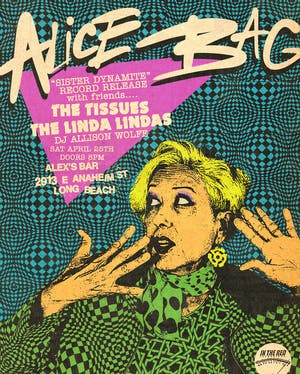 Alice Bag record release show + The Tissues & The Linda Lindas
