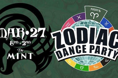ZODIAC DANCE PARTY, Celebrating Aries! w. DJ Hot Tub Johnnie