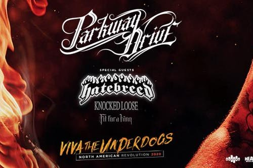 Parkway Drive: Viva The Underdogs Tour