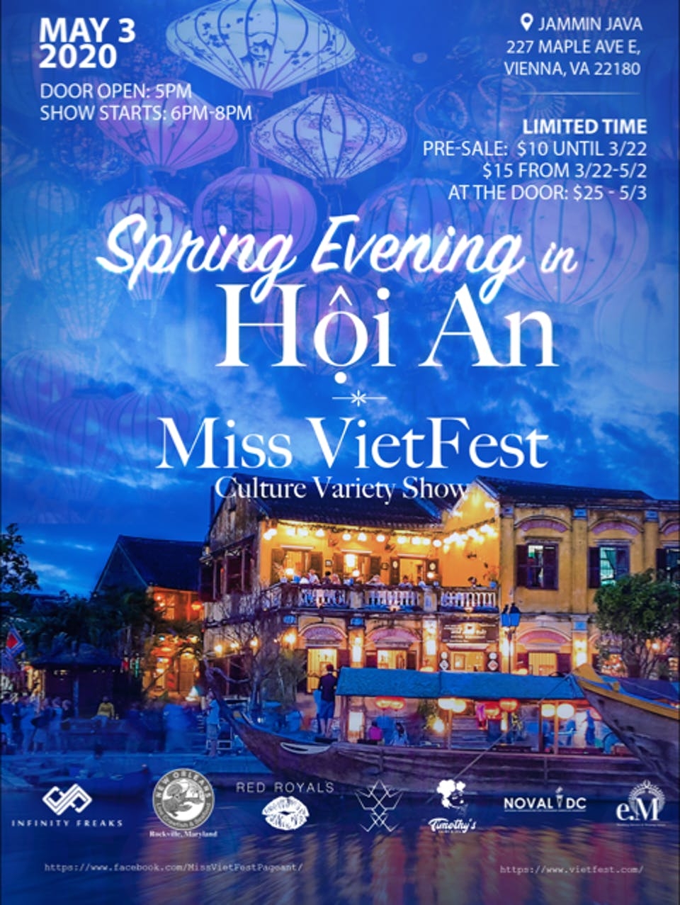 POSTPONED | Spring Evening in Hội An with Miss VietFest