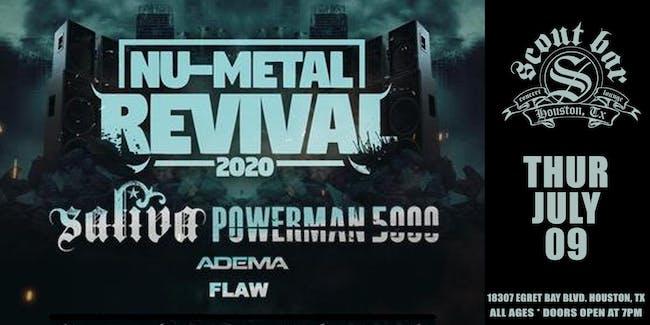 NU-METAL REVIVAL featuring SALIVA - SHOW HAS BEEN POSTPONED