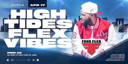 Funkmaster Flex Presents HIGH TIDES FLEX VIBES on Hornblower's INFINITY