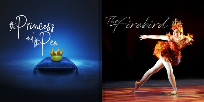 (POSTPONED TBD) The Princess and the Pea & The Firebird (Sat 1pm)
