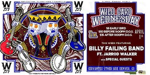 POSTPONED - Billy Failing Band ft. Jarrod Walker w/ Kind Country + More