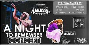 CANCELLED - A Night to Remember Concert hosted by Jennaske w/ LKeys