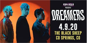 CANCELLED - Dreamers w/ Special Guests at THE BLACK SHEEP
