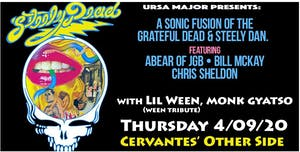 CANCELLED - Steely Dead w/ Lil Ween, Monk Gyatso - A Night of Steely Dan, G