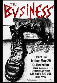 The Business & The Bar Stool Preachers + more TBA at Alex's Bar