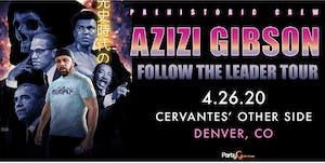 POSTPONED - Azizi Gibson w/ Special Guests