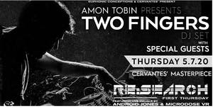 POSTPONED - ANDROID RE:Search ft. Amon Tobin's Two Fingers