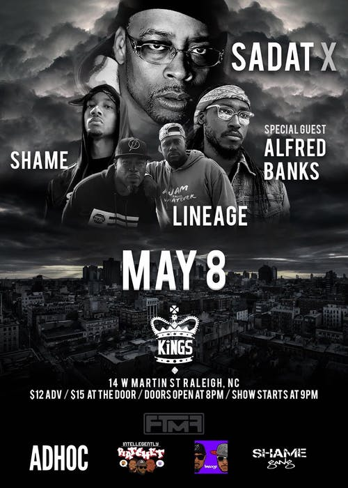 Sadat X, Alfred Banks, Lineage, Shame