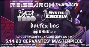 RE:Search ft. Freddy Todd b2b Mystic Grizzly w/ Dorfex Bos, UHNK (Late Set)