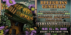 Bluegrass Generals ft. Chris Pandolfi, Andy Hall, Paul Hoffman (FRIDAY)
