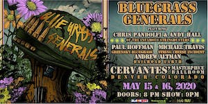 2-DAY PASS: Bluegrass Generals - Friday 5/15 & Saturday 5/16
