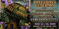 Bluegrass Generals ft. Chris Pandolfi, Andy Hall, Paul Hoffman (SATURDAY)