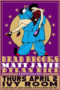 Brad Brooks, Matt Jaffe, Dylan Rice and Band (Album Release)