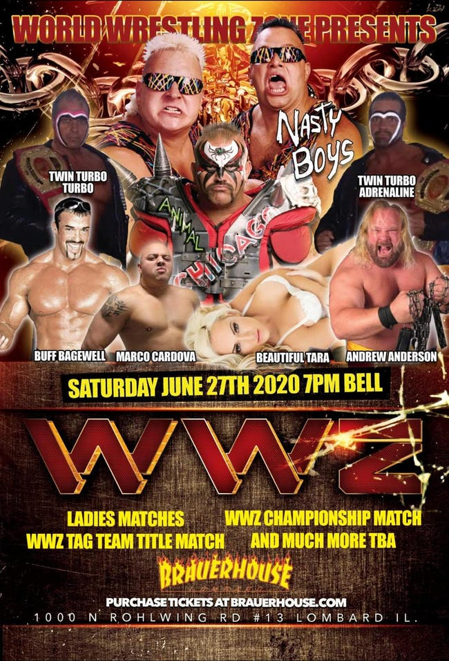 WWZ Wrestling at BHouse Live