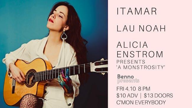 Itamar, Lau Noah, Alicia Enstrom