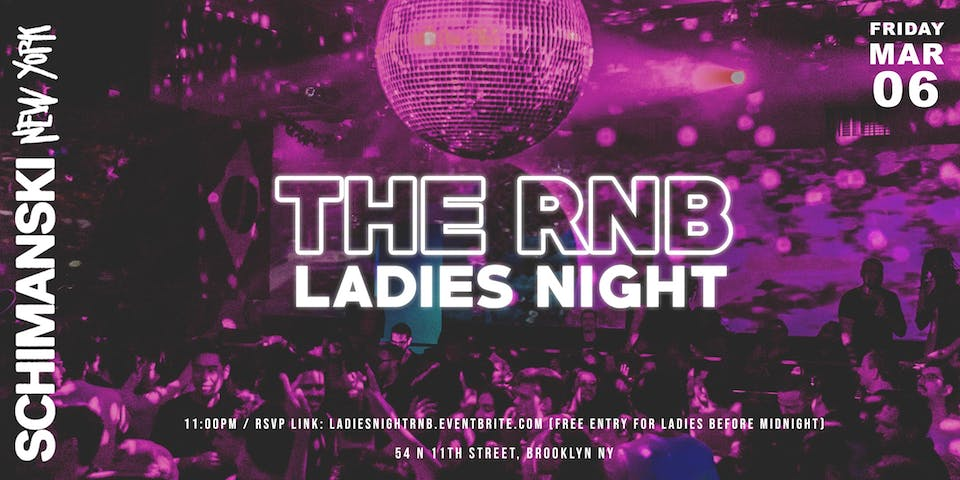 The R&B Ladies Night