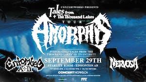 Amorphis w/ Entombed A.D. & Nervosa
