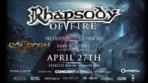 Rhapsody of Fire w/ Solborn