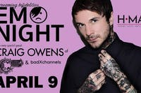 Emo Night with Craig Owens of Chiodos at HMAC