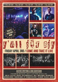 Y'ALL OUT BOY: Austin's Pop Punk Cover Band