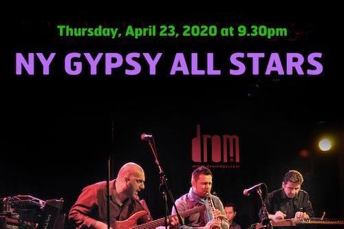 [CANCELLED] NY Gypsy All-Stars