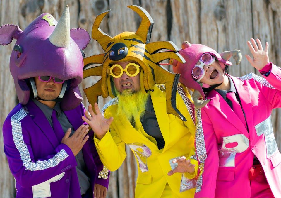 "POSTPONED - Peelander-Z ""Japanese Action Comic Punk Band""ONCE Lounge"