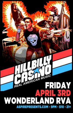 *postponed* Hillbilly Casino