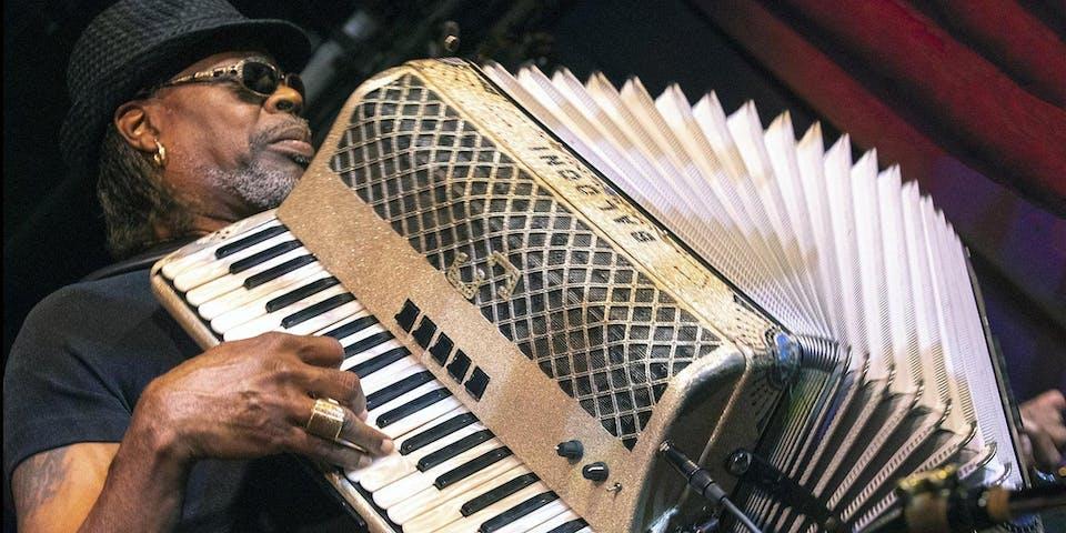 CJ Chenier & The Red Hot Louisiana Band