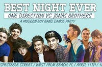 Best Night Ever: One Direction vs. Jonas Bros