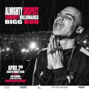 Almighty Suspect: Album Release Party!