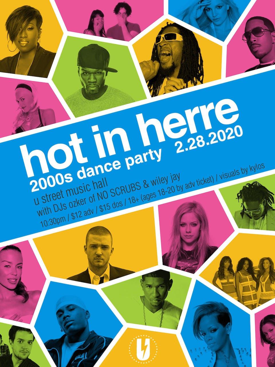 Hot in Herre: 2000s Dance Party