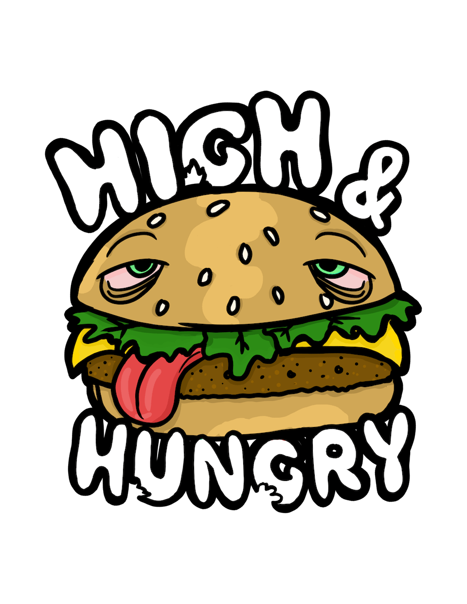 BReal TV's High and Hungry Comedy Show