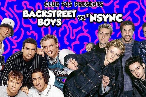 Backstreet Boys vs. N'Sync: Club 90's