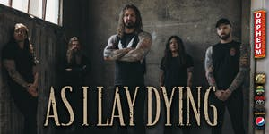 ** NEW DATE ** As I Lay Dying Burn To Emerge Tour Powered By Heart Support