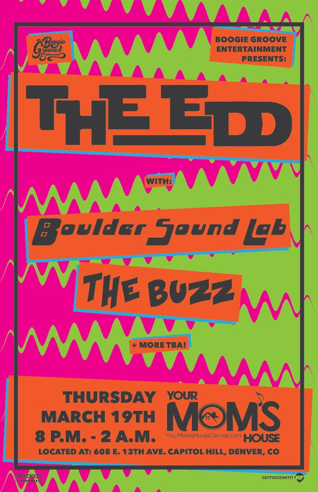 The Edd w/ Boulder Sound Lab & The Buzz